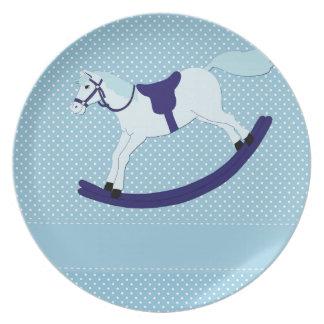 Prato De Festa balançar-cavalo