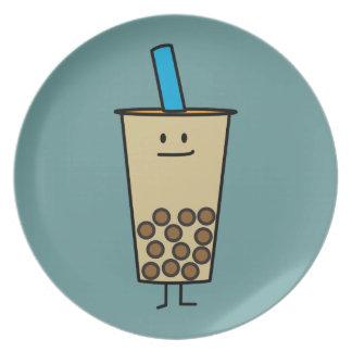 Prato De Festa Bolas do Tapioca do chá do leite da pérola de Boba