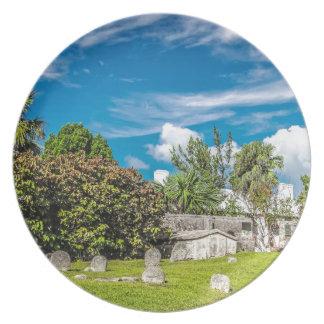 Prato De Festa Cemitério de Georges da rua