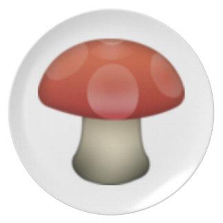 Prato De Festa Cogumelo - Emoji
