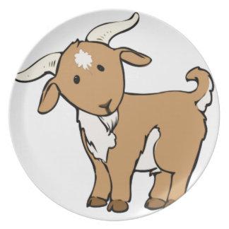 Prato De Festa goatee da cabra