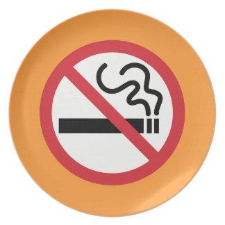 Prato De Festa Ícone não fumadores