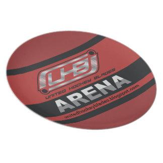 Prato De Festa Logotipo da arena de UHB