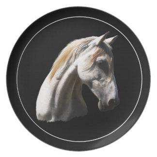 Prato De Festa Placa da arte dos Eqüino-amantes do cavalo do