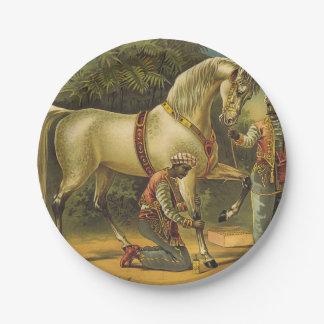 Prato De Papel Direitos do cavalo do T