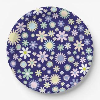 Prato De Papel Flores