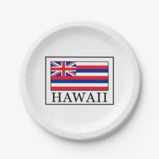 Prato De Papel Havaí