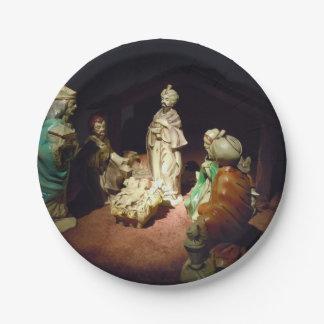 Prato De Papel Jesus é nascido