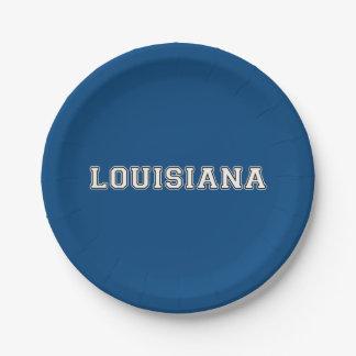 Prato De Papel Louisiana