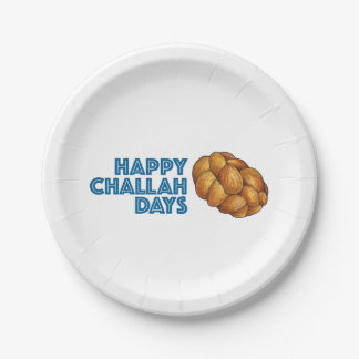 Prato De Papel Placa feliz do feriado de Hanukkah Chanukah dos