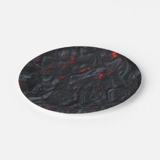 Prato De Papel placas quentes da lava