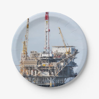 Prato De Papel Plataforma petrolífera