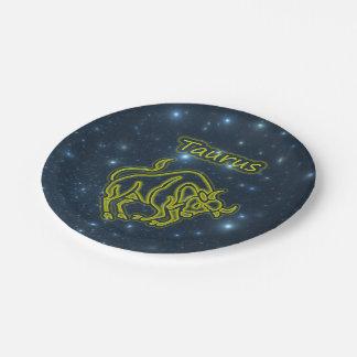 Prato De Papel Taurus brilhante