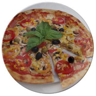 Prato De Porcelana Pizza italiana