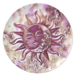 Prato Lua de Sun da paixão