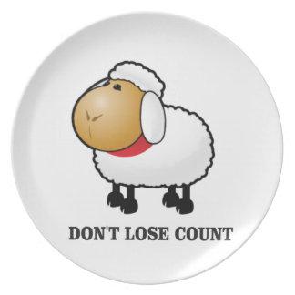 Prato não perca carneiros da contagem