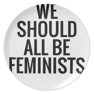PRATO NÓS DEVEMOS TODOS SER FEMINISTAS