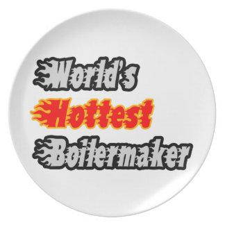 Prato O Boilermaker o mais quente do mundo