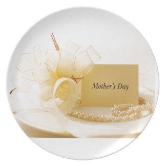 Prato Pérolas do dia das mães