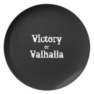 Prato Presente da vitória ou do Valhalla