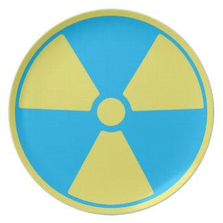 Prato Radioativo