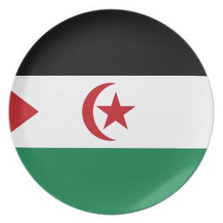 Prato República Democrática árabe de Sahrawi