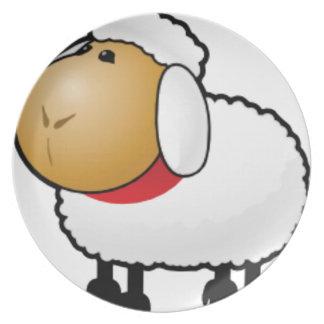 Prato um carneiro da ram