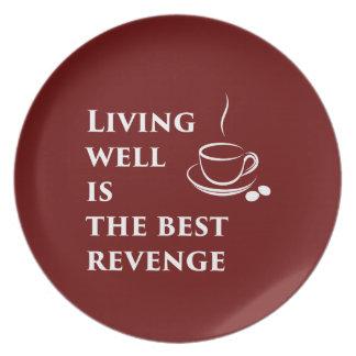 Prato Viver bem é a melhor vingança