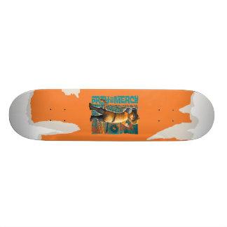 Pray for Mercy (blue) Skateboard Decks