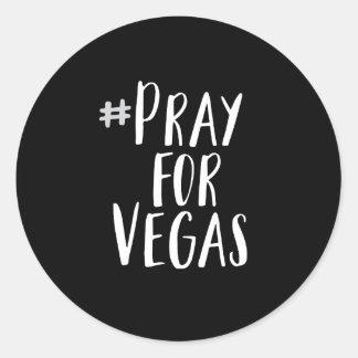 Pray para a etiqueta de Vegas