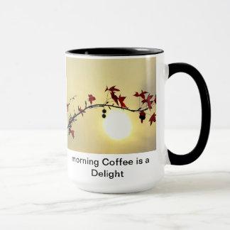 Prazer da manhã caneca