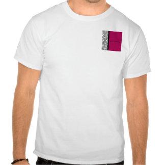 Prazer do damasco no vermelho do Cherrystone Camiseta