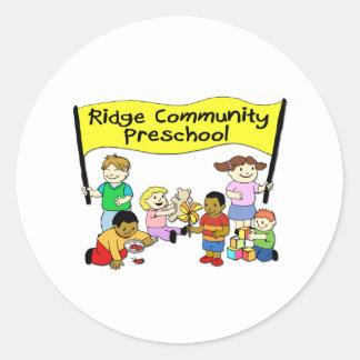 Pré-escolar da comunidade de Ridge Adesivo