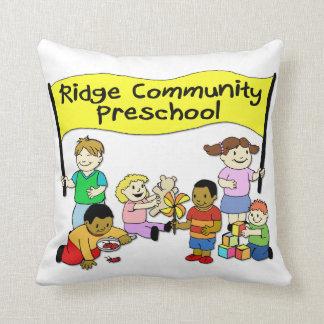 Pré-escolar da comunidade de Ridge Travesseiros De Decoração