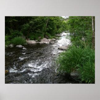 Precipitação do rio poster