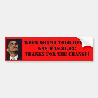 Preço de gás Bumpersticker de Obama Adesivo Para Carro