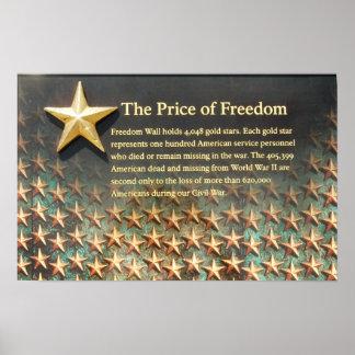 """""""Preço poster do memorial da segunda guerra"""