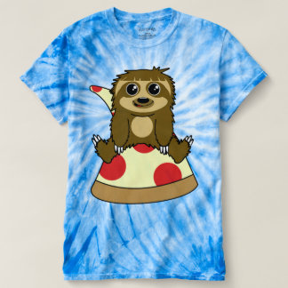 Preguiça da pizza t-shirts