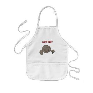 Preguiça do bebê do abraço da preguiça avental infantil