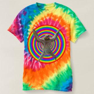 Preguiça mágica do arco-íris tshirt