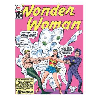 Prêmio da batalha da mulher maravilha cartão postal