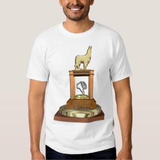 Prêmio do lama do drama tshirts