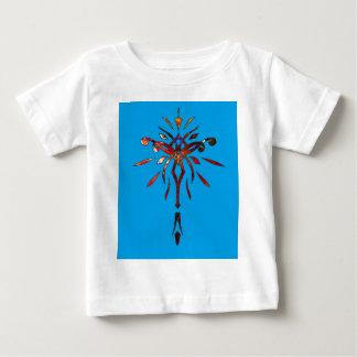 Presente colorido do Tshirt da criança do feriado