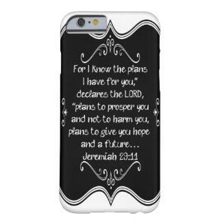 Presente cristão feito sob encomenda do 29:11 de capa barely there para iPhone 6