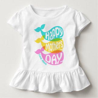 Presente da camisa do dia das mães da menina da