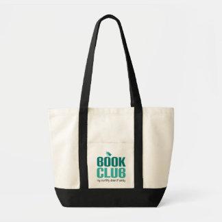 Presente das citações do clube de leitura bolsas de lona