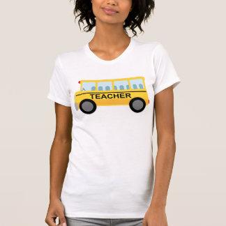 Presente do auto escolar do professor tshirt
