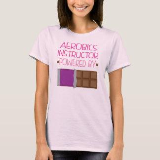 Presente do chocolate do instrutor da ginástica t-shirt