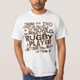 Presente do jogador do rugby camiseta