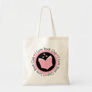 Presente do membro de clube de leitura bolsas para compras